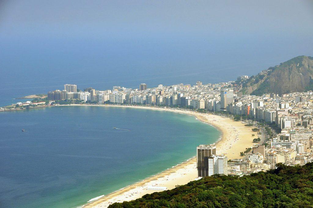 """""""Rio de janeiro copacabana beach 2010"""" by chensiyuan - Wikipedia"""