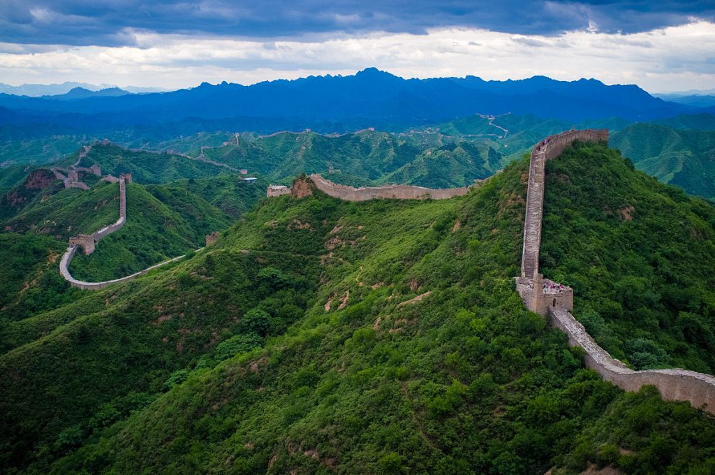 """The Great Wall of China at Jinshanling"" by Severin.stalder - Wikipedia"
