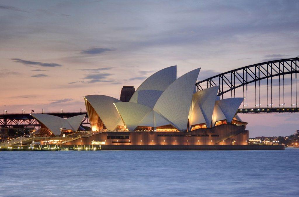 """""""Sydney Opera House, botanic gardens 1"""" by Adam.J.W.C. - Wikipedia"""