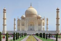 Taj Mahal – the finest example of Mughal architecture